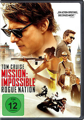 Dvd * Mission: Impossible - Rogue Nation   Tom Cruise # Neu Ovp +