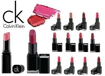 Ck Delicious Luxury Creme / Sheer / Moisturising Lipstick New **choose Shade**