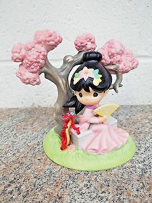 Precious Moments A Blossom Is Never Too Late To Bloom Disney Mulan Porcelain