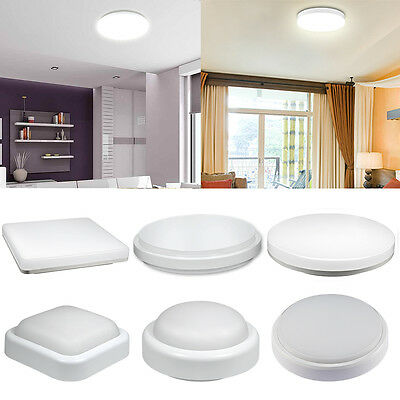6w 12w 15w 18w 24w led flush mount deckenlampe badleuchte for Leuchte küche
