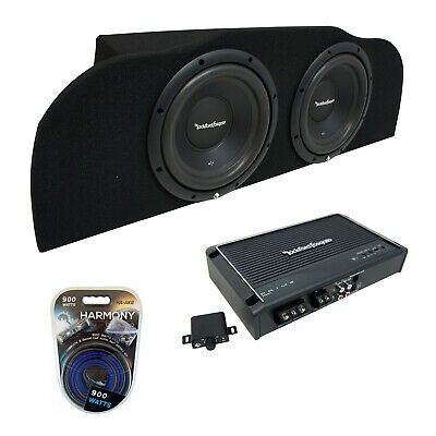 "03-15 Fits Infiniti G35 Coupe Rockford R1S410 Subwoofer Dual 10"" Sub Box R250X1"