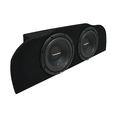 "03-15 Fits Infiniti G35 Coupe Rockford R1S410 Subwoofer Dual 10"" Sub Box 2 Ohm"