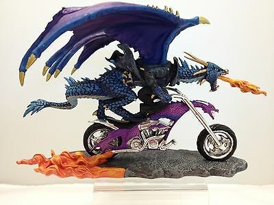 Wielding Terror - Dragons Revenge Biker Collection - Dragon on Motorcycle