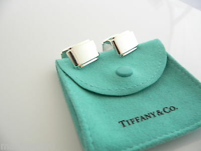 7d3051d2a Tiffany & Co Silver Metropolis Cuff Link Cuff Links Cufflinks Excellent
