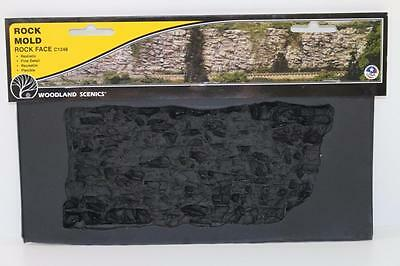 OO HO Scale Woodland Scenics Rock Mold, Rock Face C1248 FNQHobbys
