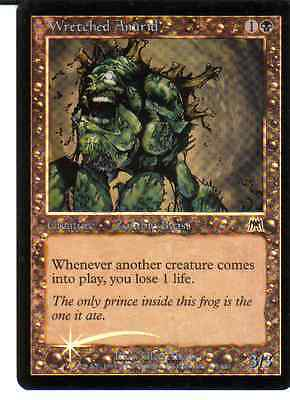 Magic Mtg -  Wretched Anurid - Foil - In  Inglese