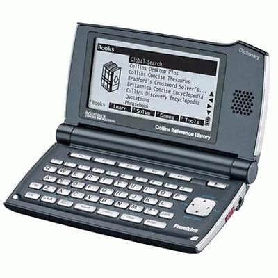 Franklin DMQ2110 Collins Speaking Reference Library Ideal For Crossword Solving