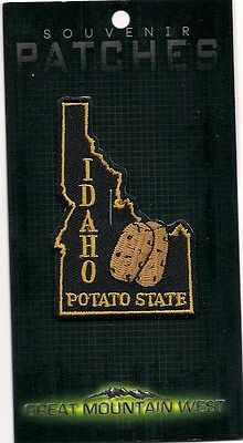 Souvenir Patch State Of Idaho