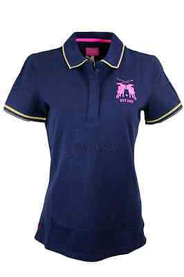 Joules Amity Ladies Polo Shirt French Navy