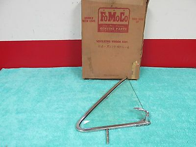 1949 Ford 70 72 73  Rh  Front Door  Vent Window Assembly  Nos Ford  616