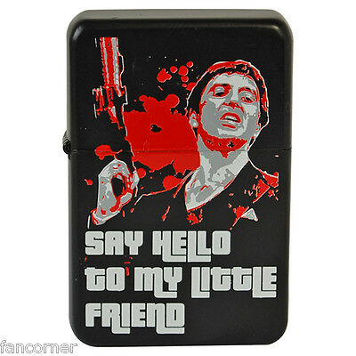Briquet Scarface briquet Say hello to my little friend Scarface boxed lighter