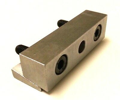 "Hwacheon CNC Lathe Tool Holder Blocks Turret Face Wedge Clamp for 1"" Square"