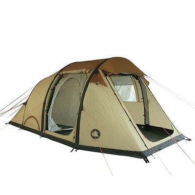 10T Air Venus - inflatable 4-person airtube tunnel tent, WS=5000 mm, sewn in gro