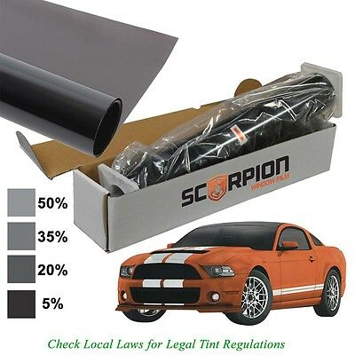 "Scorpion DS20B24 Window Tint Desert Series 2 Ply 20% 24""X 100' Roll"