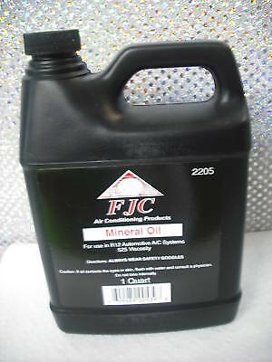 MINERAL OIL, R12, R22, 525 Viscosity, FJC PRODUCTS