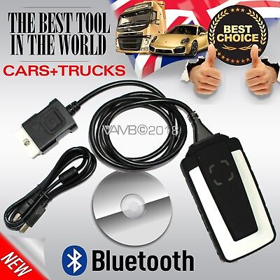 Latest Bluetooth Car Truck 2016 Diagnostic Updated Obd Scanner Software 2 In 1