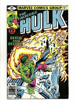 Incredible Hulk Vol 1 No 243 Jan 1980 (VFN+) Marvel, Modern Age (1980 - Now)