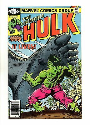 Incredible Hulk Vol 1 No 244 Feb 1980 (VFN+) Marvel, Modern Age (1980 - Now)