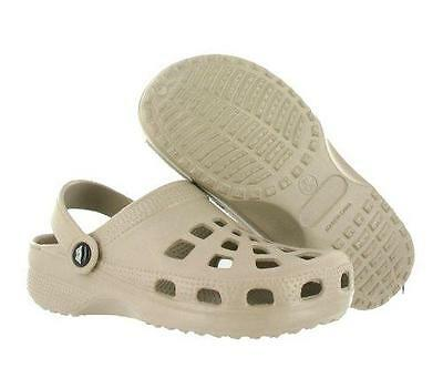 DOGGERS YOUTH KIDS TAN Clog with Strap Shoe BRAND NEW Comfort Slip On DAWGs Flip