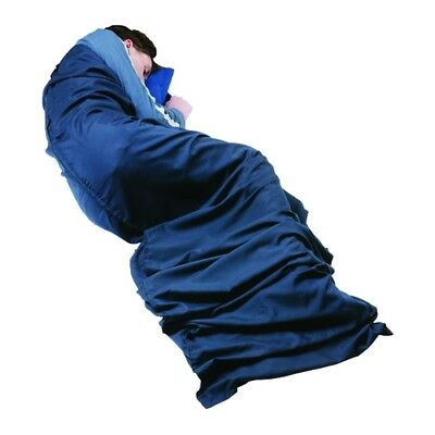 Trekmates Polyester/Cotton Sleeping Bag Liner Mummy - Polyester/cotton inlet for
