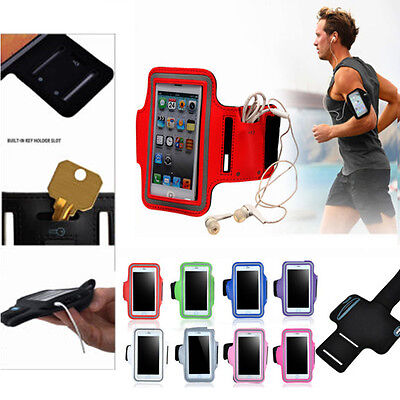 Sports Running Gym Armband Arm Band Case Cover Holder For iPhone 7 6s Plus 5s SE