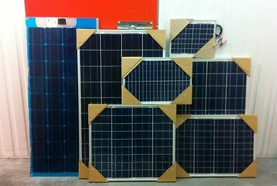 NEW 12volt Energy+ Poly Solar Panels 10w/20w/40w/50w/80w/100w/120w/150w/250w MC4
