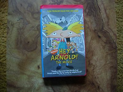 Nickelodeon Hey Arnold! The Movie VHS • CAD 6.56 - PicClick CA