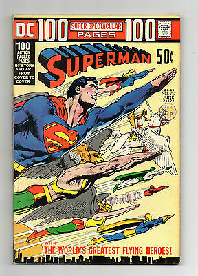 Superman Vol 1 No 252 Jun 1972 (VFN) DC, Bronze Age, 100 pages, Neal Adams Cover