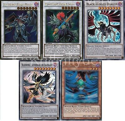 Yugioh Authentic Crow Hogan Final Deck - Black-Winged  - Gale - Armor 454 Cards