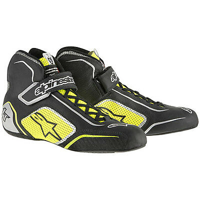 Alpinestars 10115155A11 Tech 1-T Shoes Black/Yellow Size 11