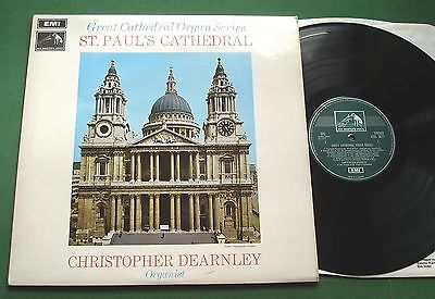 Great Cathedral Organ 17 St Paul's Cathedral Christopher Dearnley CSD 3677 LP