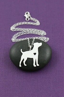Jack Russell dog  pendant necklace dog collectible