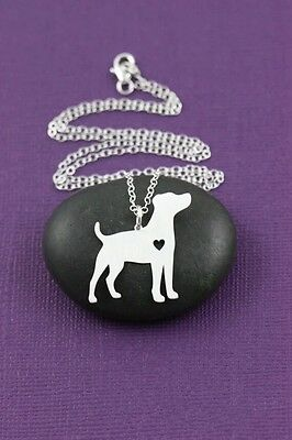 Lot of 9 Jack Russell dog  pendant necklace dog collectible
