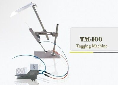 "automatic Tagging Machine,TM-100 3"" for socks, carpet, towels,clothing & more,"