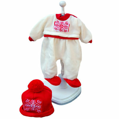 Berenguer Baby Doll Reborn Clothes Christmas Outfit Retired NEW Tag 18