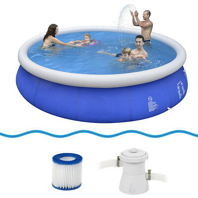 Jilong Marin Blue 450 Set - quick-up pool set, 450x90cm with cartridge filter pu