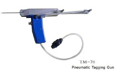 Pneumatic tagging guns T-70 for socks, carpet, towels,clothing & more,handheld