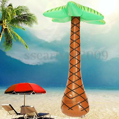Large Inflatable Palm Tree Jungle Toy For Hawaiian Summer Beach Party Decoration