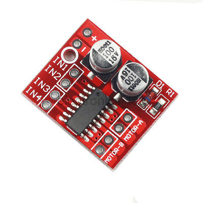 1.5A Dual Channel Mini DC Stepper Motor Driver Module PWM Speed Control