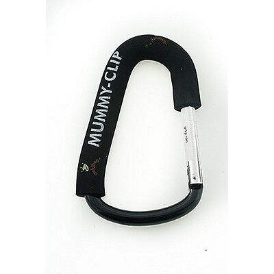 SINGLE Mummy Clip Buggy/Pram Bag Hook/Clip fits most Pushchairs