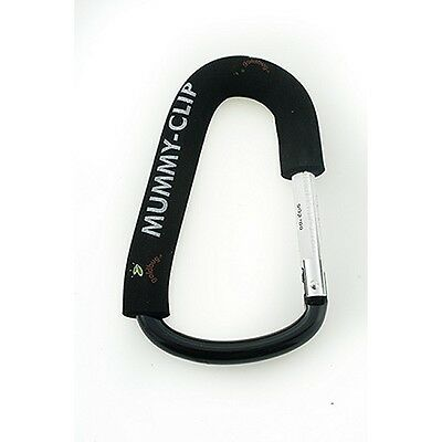 SINGLE Mummy Clip Buggy Pram Bag Hook Clip fits most Pushchairs