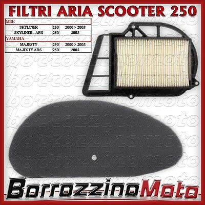 Filtro Aria + Variatore Specifico Yamaha Majesty 250 2000 2001 2002 - Abs 2003