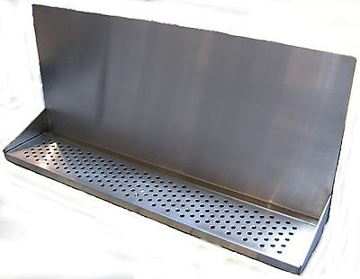 "Draft Beer Tower Wall Mt Drip Tray 30""  Long # DTWM30SS"