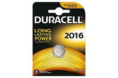 Duracell 656.992UK High Quality CR2016 Lithium Coin Cell Battery Card of 1 New