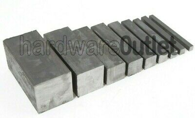 SQUARE MILD STEEL BAR 8.0 - 50.0 mm New Steel Free Postage and Packaging
