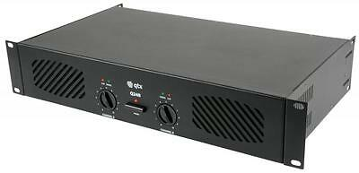 QTX 172.051UK Q-series Stereo Power Amplifiers with 6.3mm jack or RCA inputs