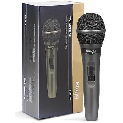 Stagg SDMP15 High Quality Professional Cardoid Dynamic Handheld Wired Microphone