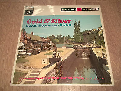 The G.u.s. (Footwear) Band - Gold & Silver Vinyl Lp Ex/vg+ 1969 Two 256