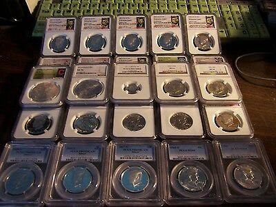Fantastic Estate Find Of Pcgs & Ngc Coins-1 Buy=4 Slabs Randomly Pulled From Box