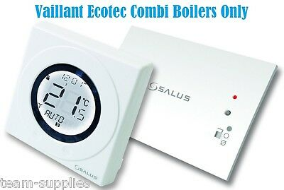 Salus ST620VBC Vaillant Boiler RF Wireless Programmable Combi Heating Stat 'NEW'